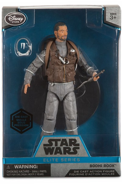 Hasbro Star Wars Elite Series Die Cast Rogue One Bodhi Rook Fig